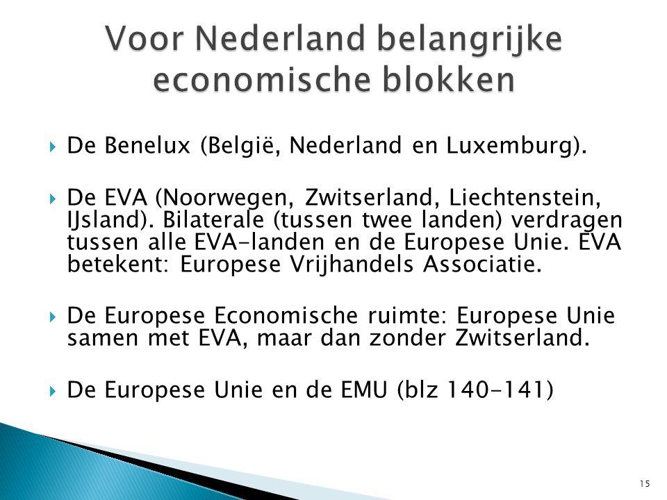  De Benelux (België, Nederland en Luxemburg).