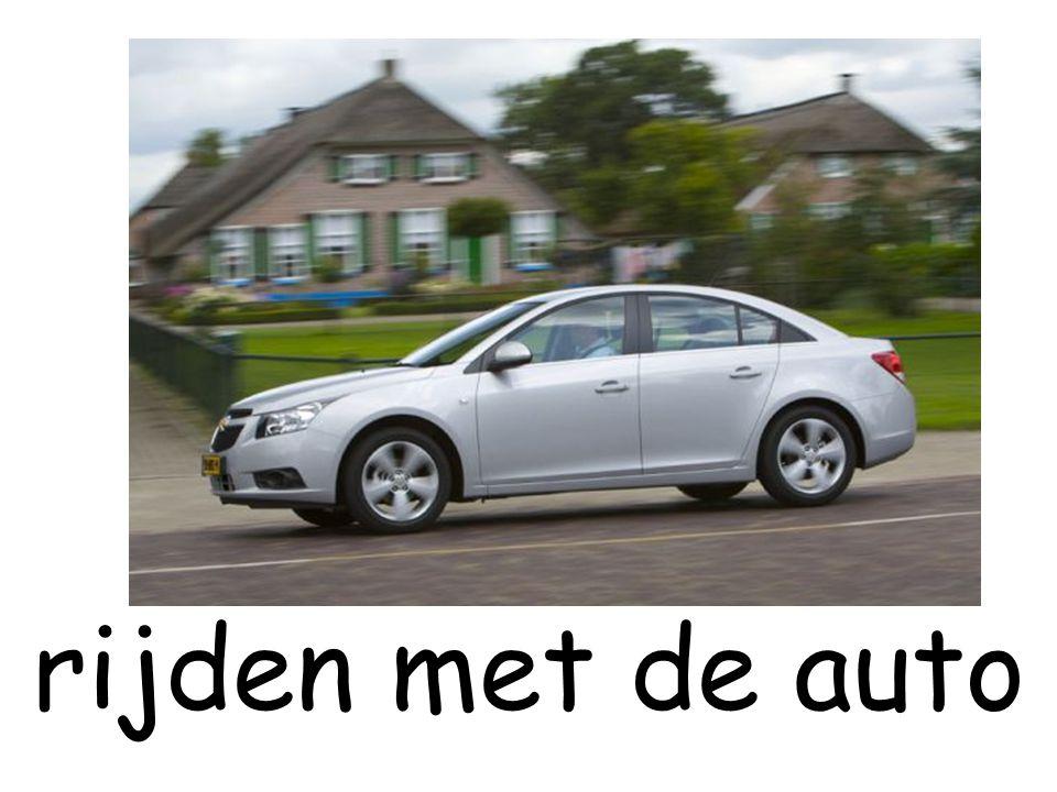 rijden met de auto