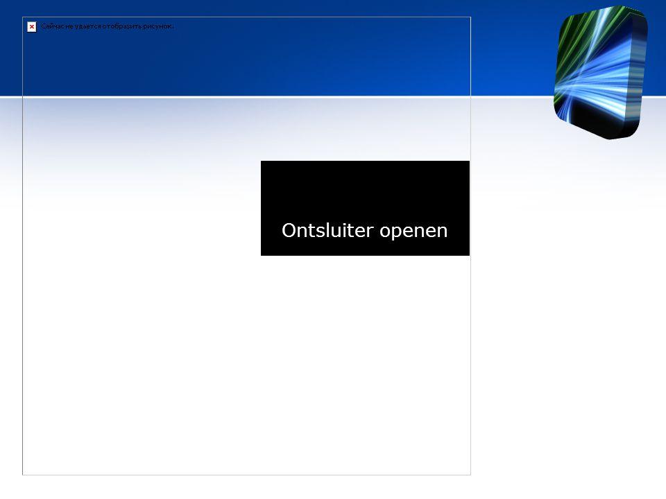 Ontsluiter openen