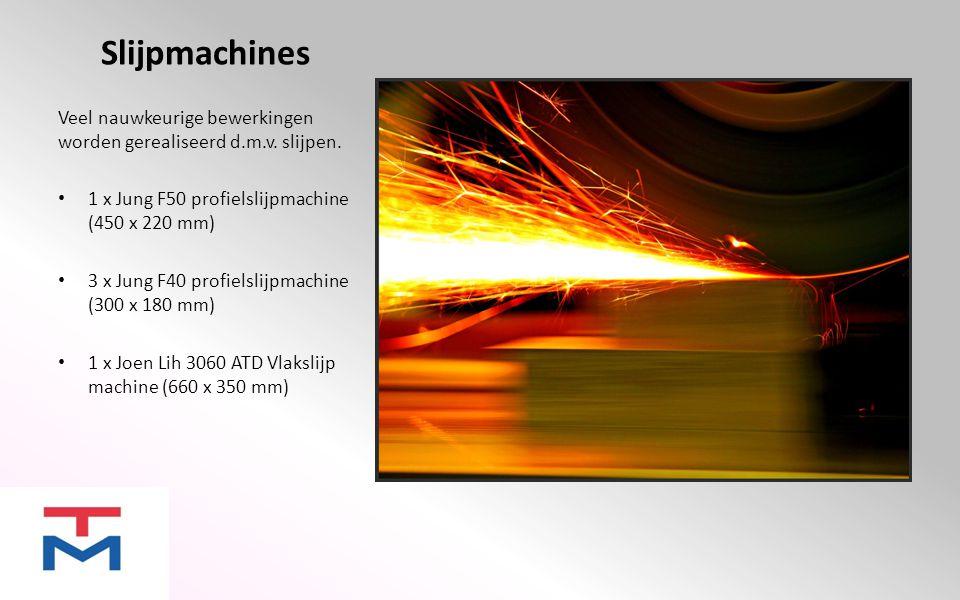 Draadvonk machines Door het hebben van meerdere draadvonkmachines zijn wij in staat snel en flexibel te handelen.