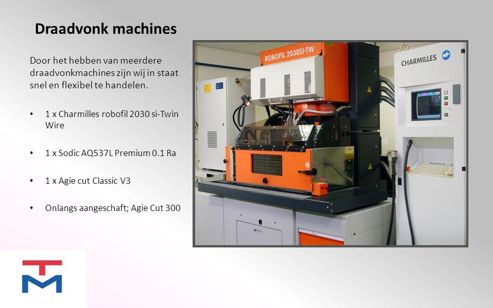 Zinkvonk machines Zinkvonken is een bewerking die alles mogelijk maakt wat bij frezen of draaien niet mogelijk is.