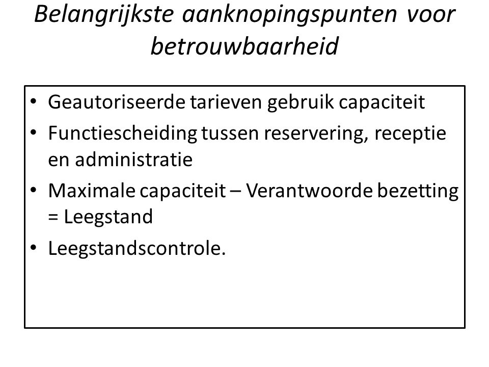 Managementinformatie 14