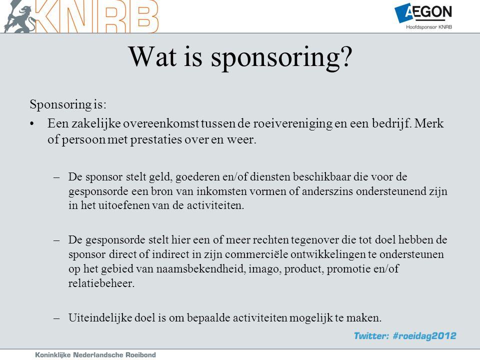 Wat is sponsoring.