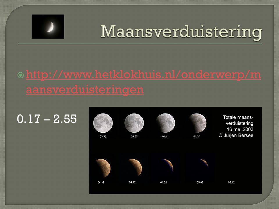 Een maansverduistering heeft weinig invloed op het leven.