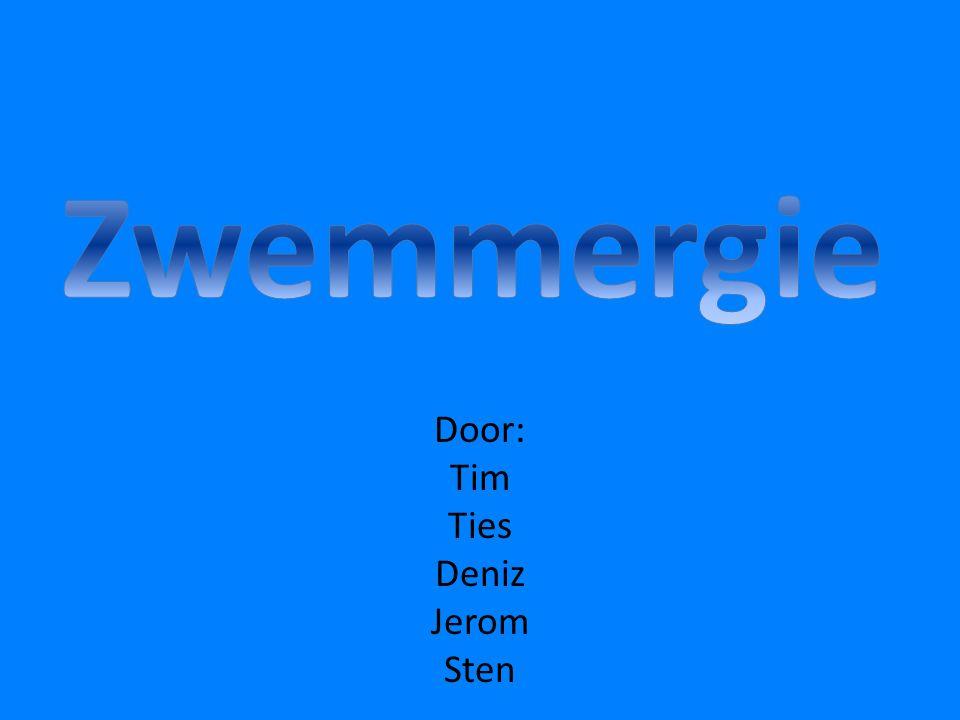 •W•We kregen de opdracht om een project te maken over hoe kun je energie opwekken uit een zwembad .