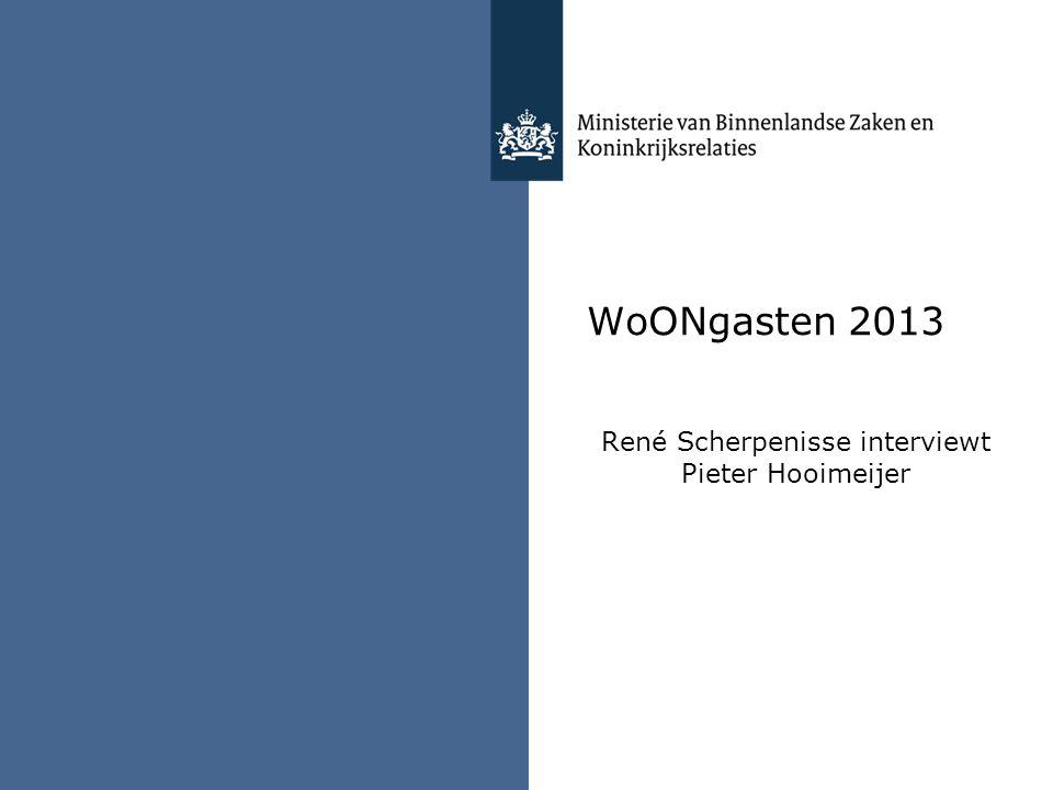 WoONgasten 2013 René Scherpenisse interviewt Pieter Hooimeijer
