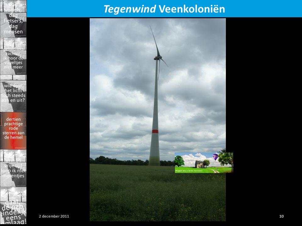 Presentatie SP Gieterveen 10 2 december 2011 Tegenwind Veenkoloniën