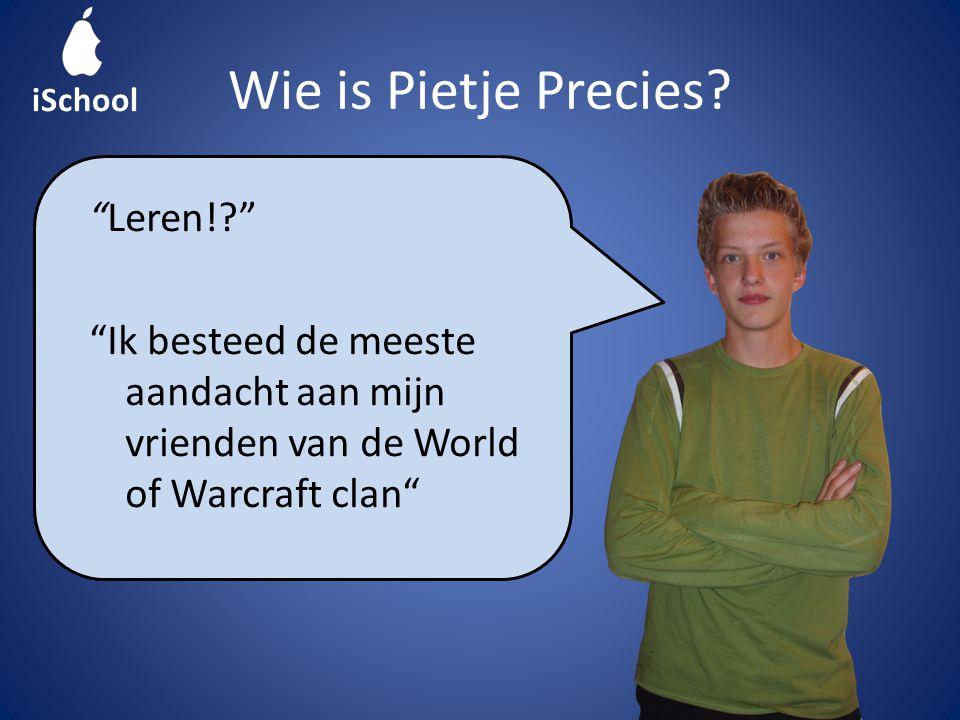 Wie is Pietje Precies.