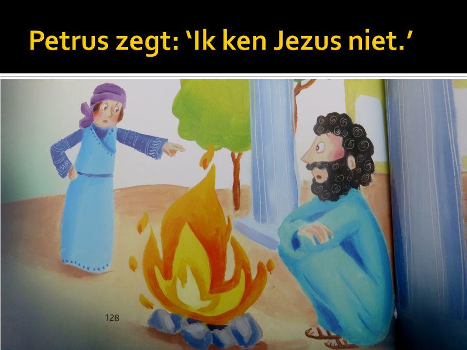  Witte Donderdag: Op donderdag denken we aan Jezus die met zijn apostelen at.
