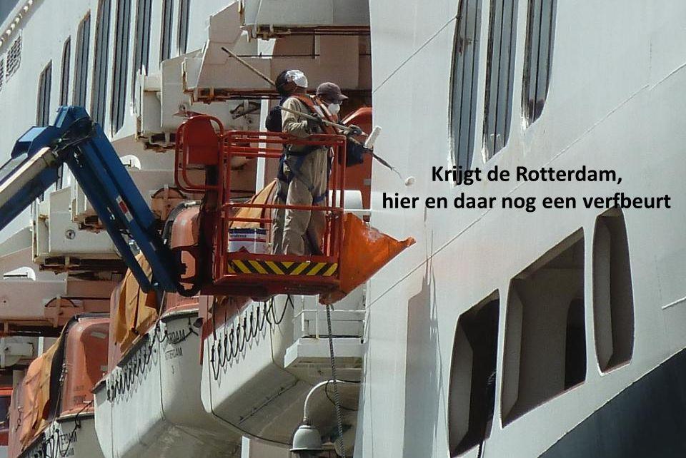 Krijgt de Rotterdam, hier en daar nog een verfbeurt