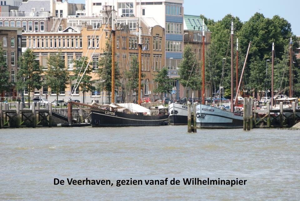 """Tussen """"De Rotterdam"""" en het KPN gebouw"""