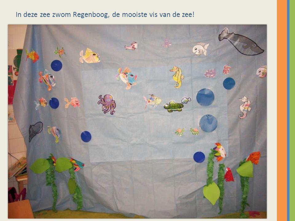 In deze zee zwom Regenboog, de mooiste vis van de zee!