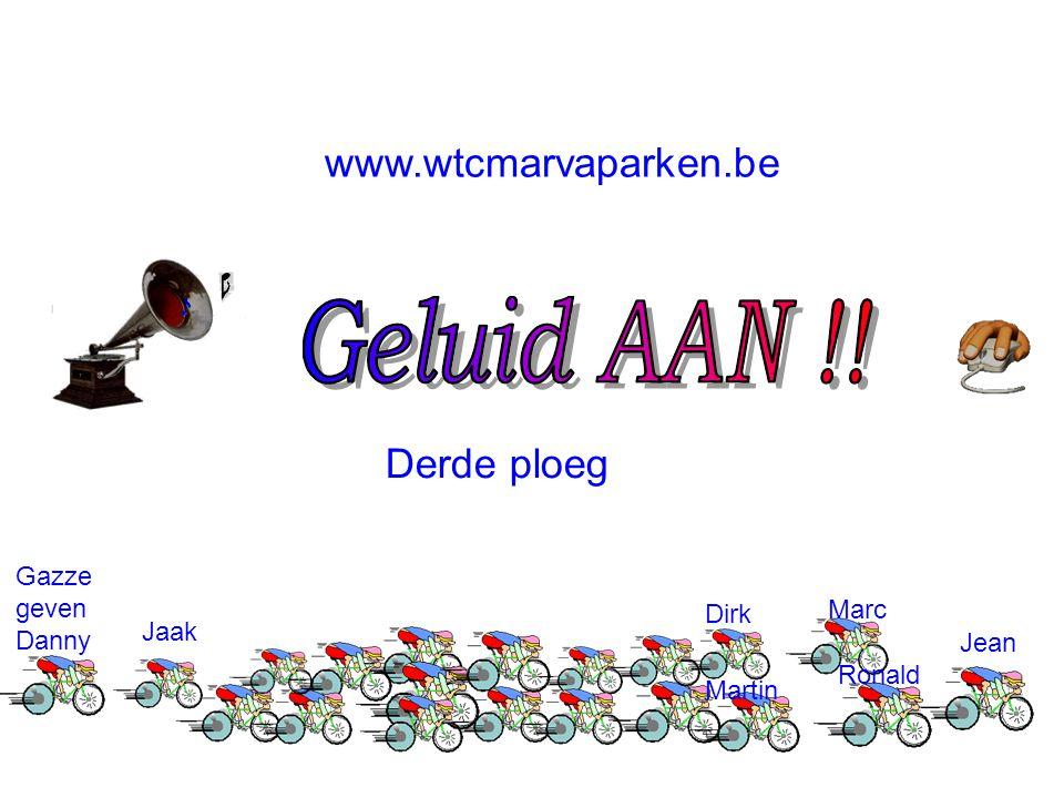 www.wtcmarvaparken.be Marc Jean Martin Dirk Ronald Jaak Gazze geven Danny Derde ploeg