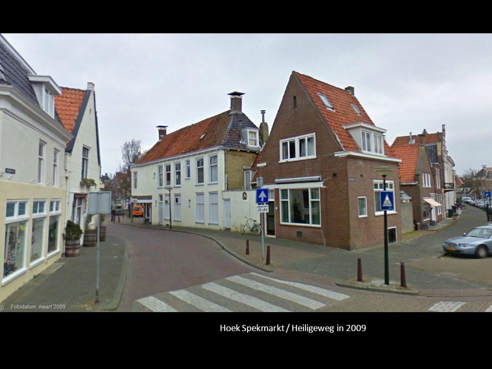Hoek Spekmarkt / Heiligeweg in 2009
