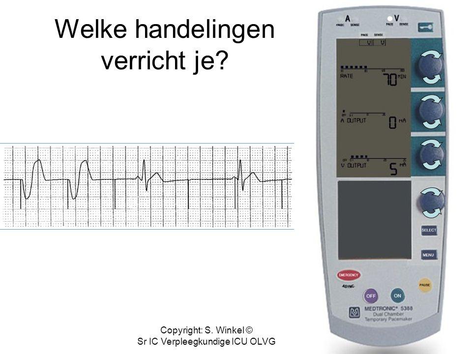 Copyright: S. Winkel © Sr IC Verpleegkundige ICU OLVG Correct!