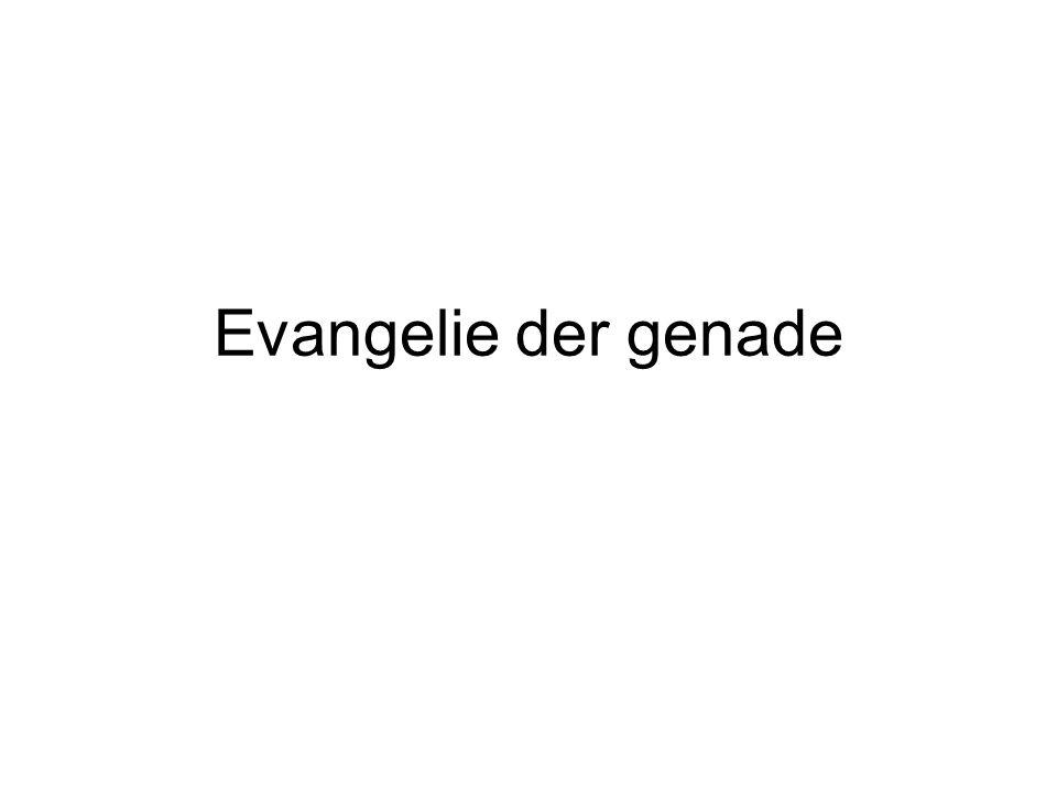 Evangelie der genade
