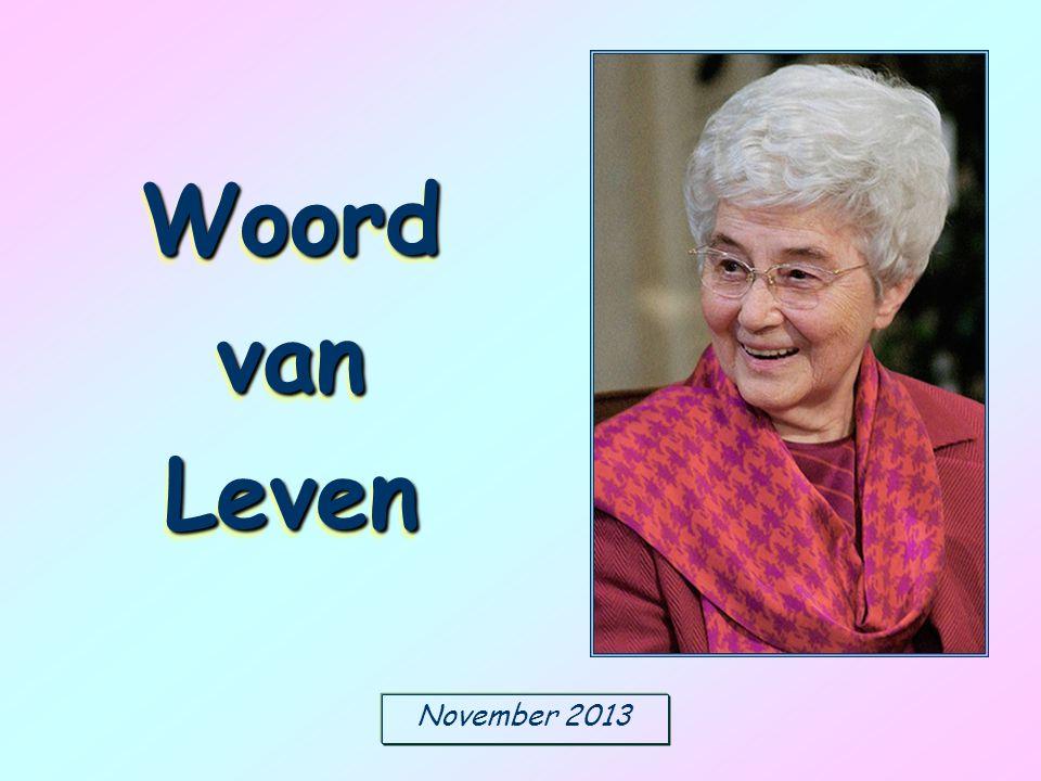 November 2013 Woord van Leven