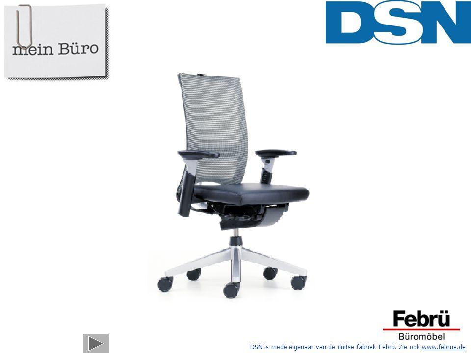 Hier is hij dan, uw nieuwe Systeem X-88 bureaustoel.
