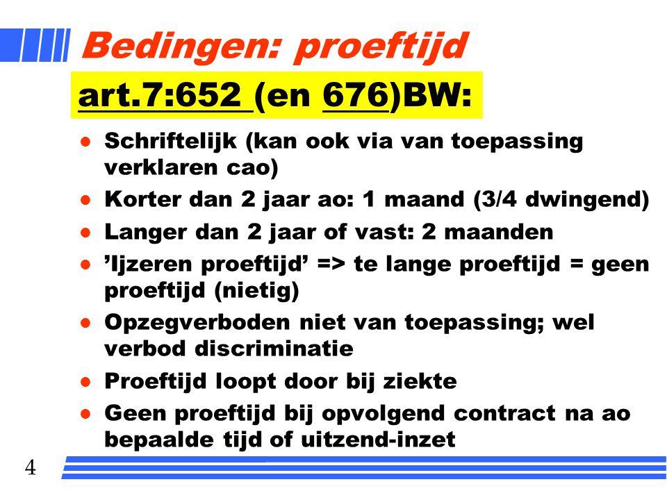 25 Vraag 4.9 Jos van Erp is werkzaam als assistent-inkoper in uw onderneming.