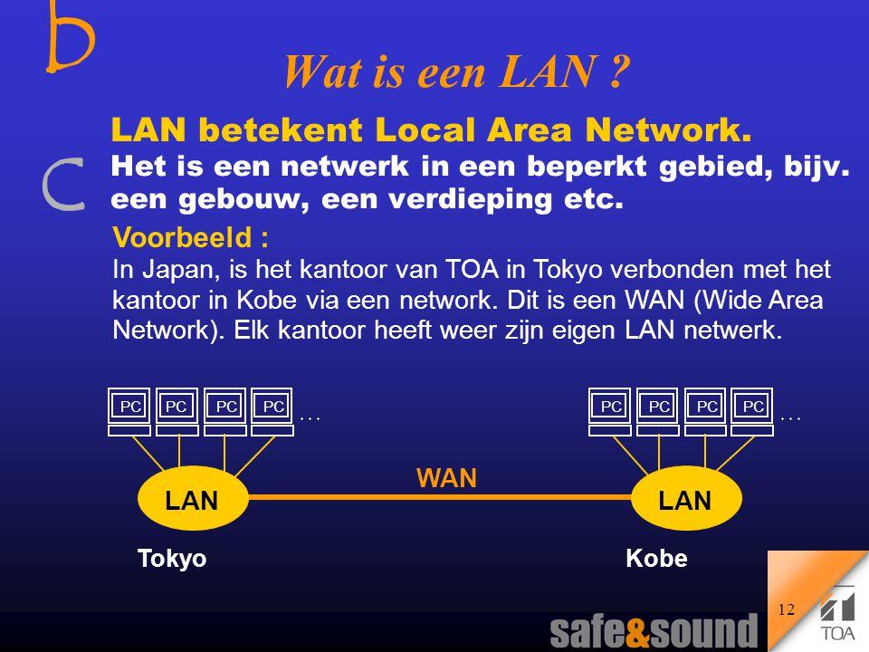bcbc 11 Wat is een netwerk .