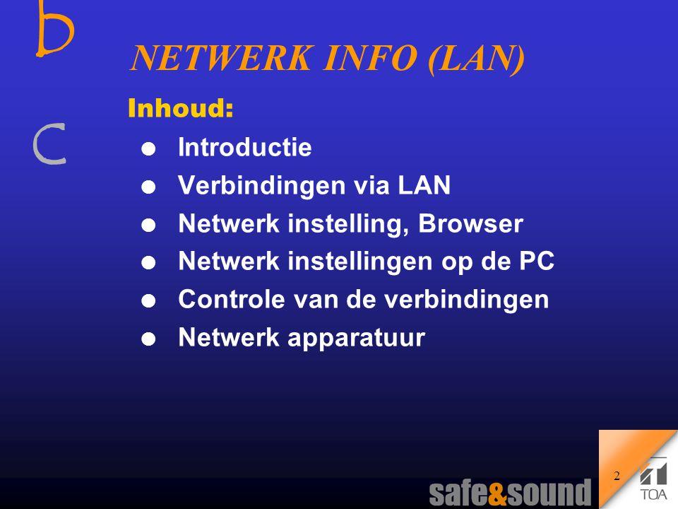 NX-100 Audio Netwerk Adapter