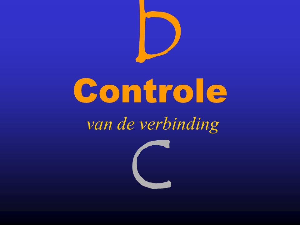 bcbc 38 •Let op: Laat de overige instellingen staan.