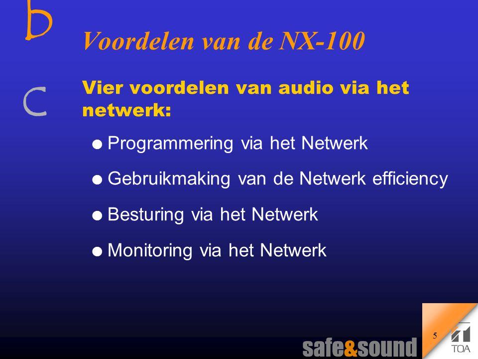 bcbc 4 Trends bij Digitale Audio en het Netwerk l Groeiende acceptatie van de PC met toepassingen.