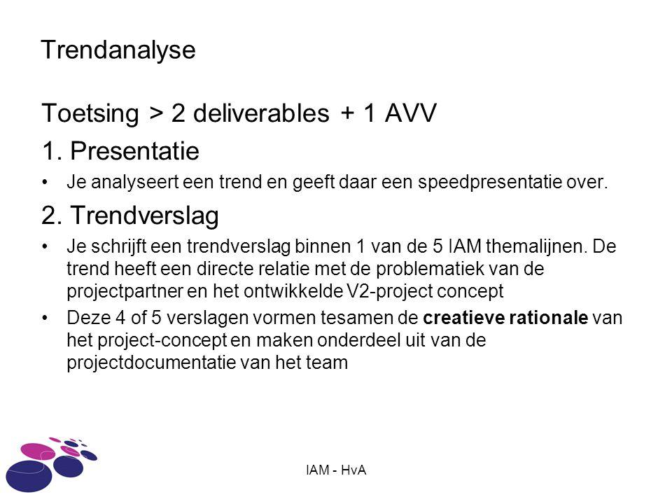 IAM - HvA Trendanalyse Toetsing > 2 deliverables + 1 AVV 1.