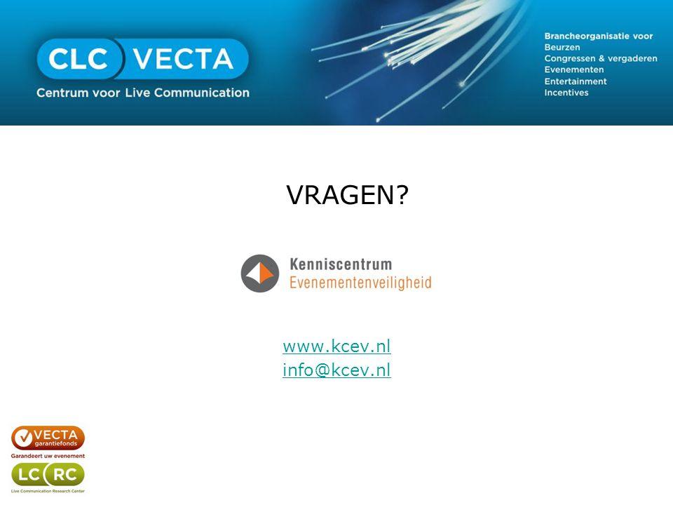 VRAGEN? www.kcev.nl info@kcev.nl