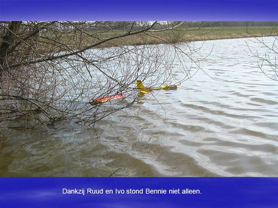 Dankzij Ruud en Ivo stond Bennie niet alleen.
