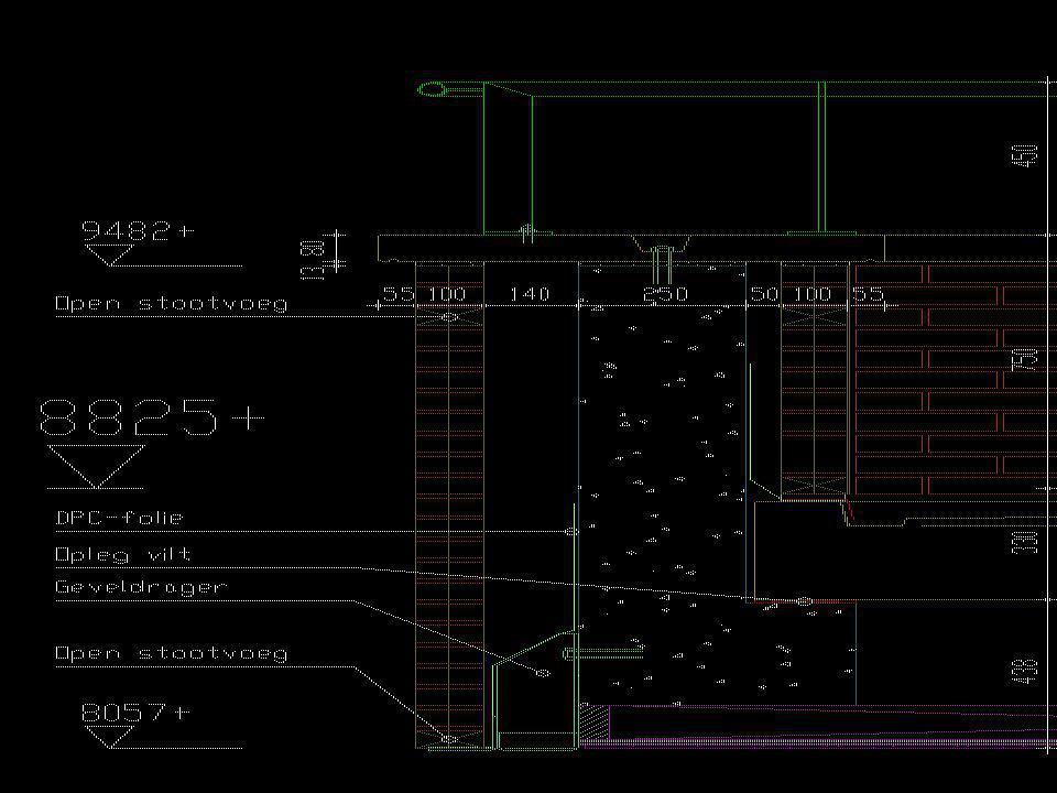 Nieuw detail * In overleg met constructeur zijn er een aantal opties uitgekomen.