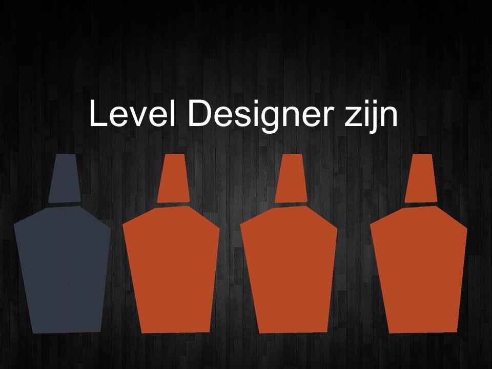 Level Designer zijn