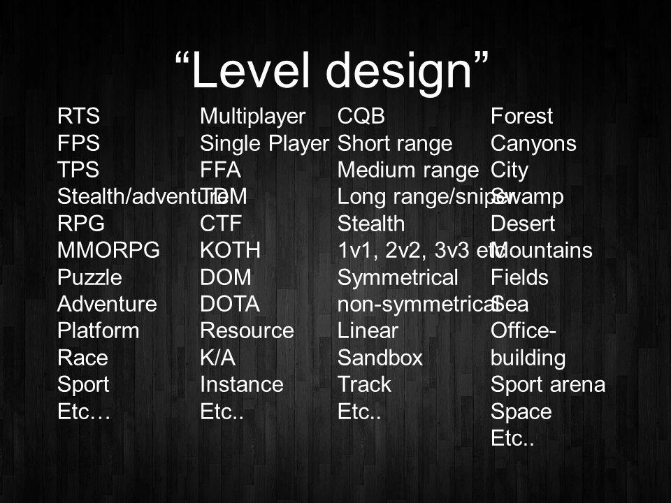 Level Design Proces Stap 3: De Block-up