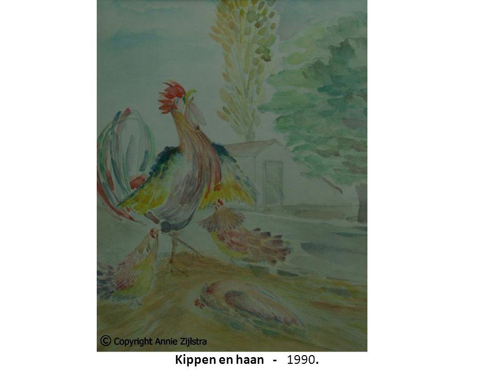Kippen en haan - 1990.
