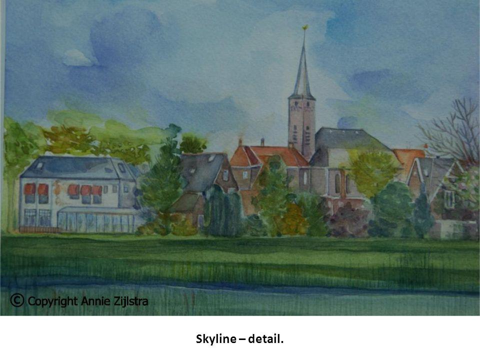 Skyline – detail.