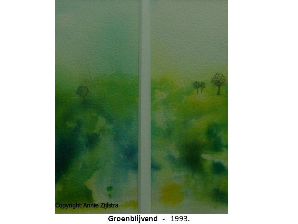 Groenblijvend - 1993.