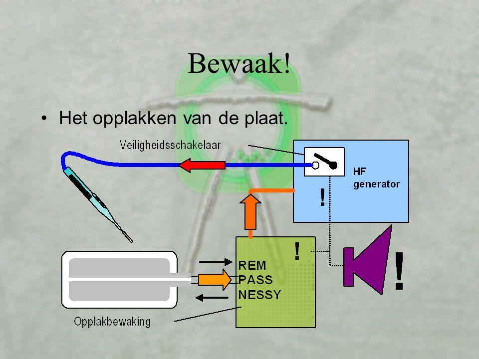 De 'split plate' Voor C ontact Q uality M onitoring S ystem bewaking (REM, NESSY, ARM, PaCC, PCS, SEN, Thermogard en anderen)