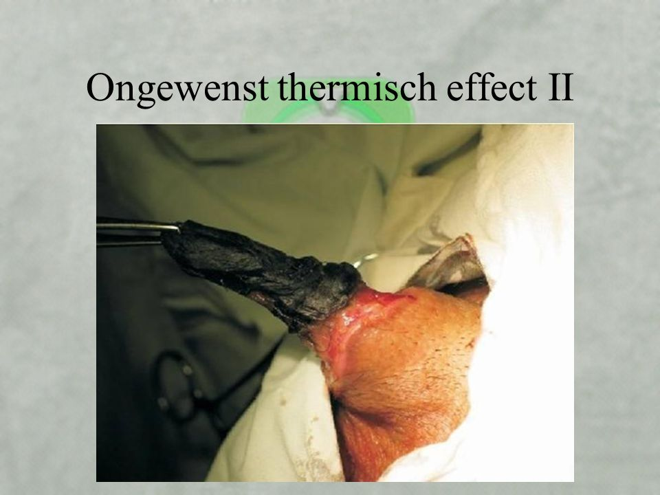 Ongewenst thermisch effect II