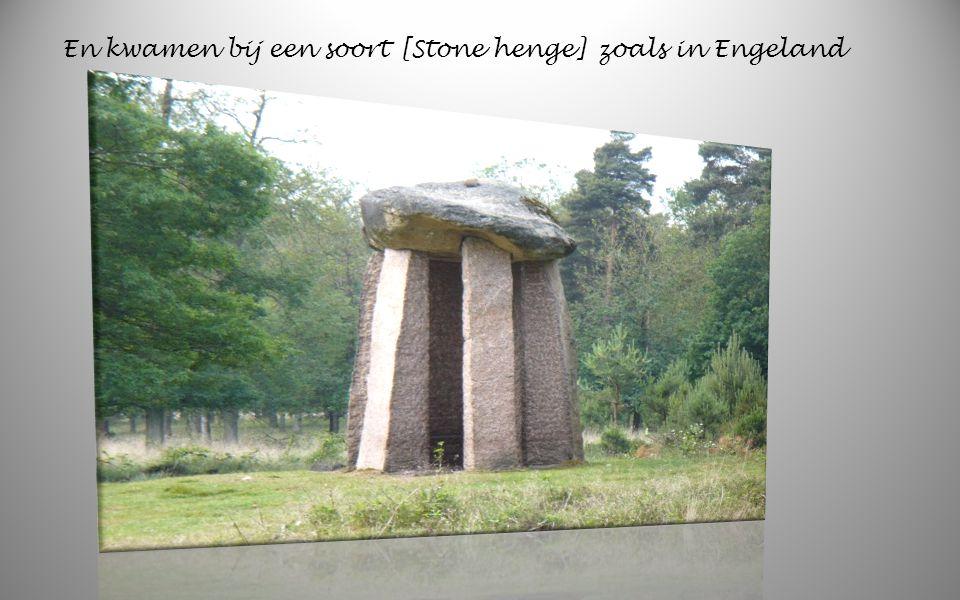 We gingen weer verder door het prachtige landschap van Drente De steentijd boeren bouwden deze graven [Hunebedden ] Genoemd. Er zijn nog 54 Hunebedden