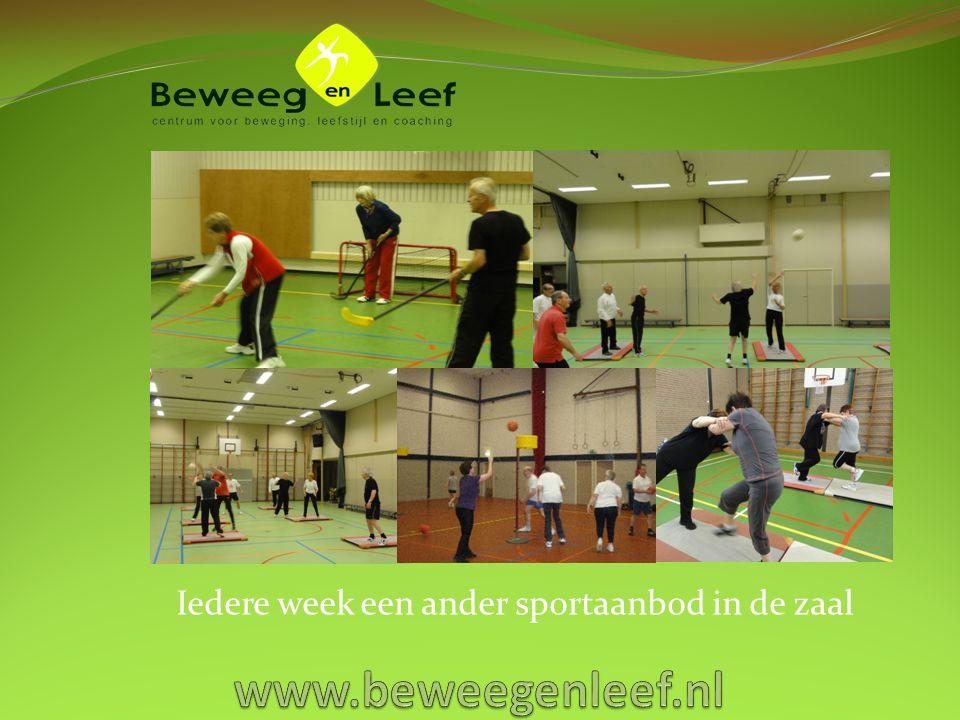 Groene Gym: bij mooi weer lekker buiten sporten!