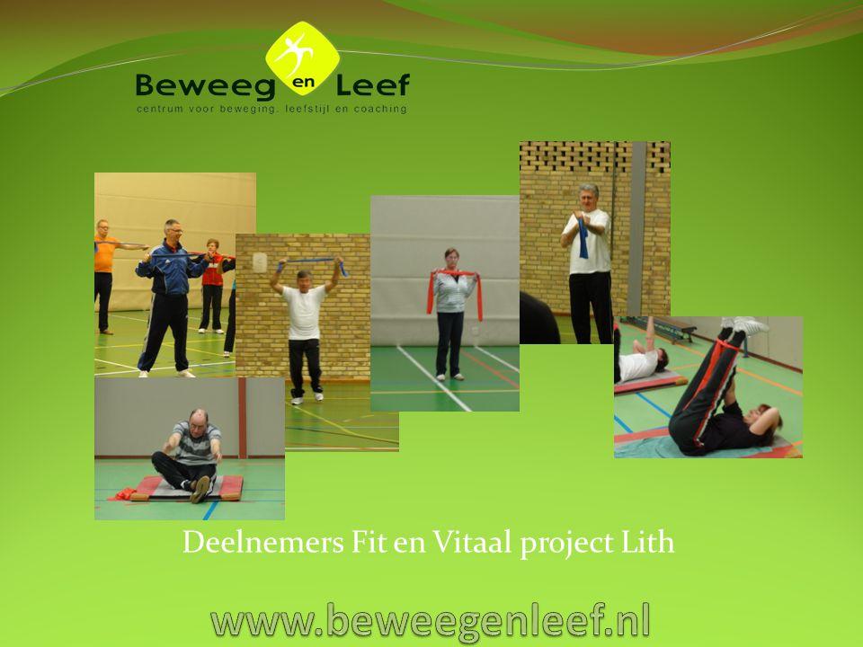 Deelnemers Fit en Vitaal project Lith