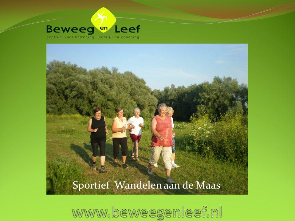 Sportief Wandelen aan de Maas