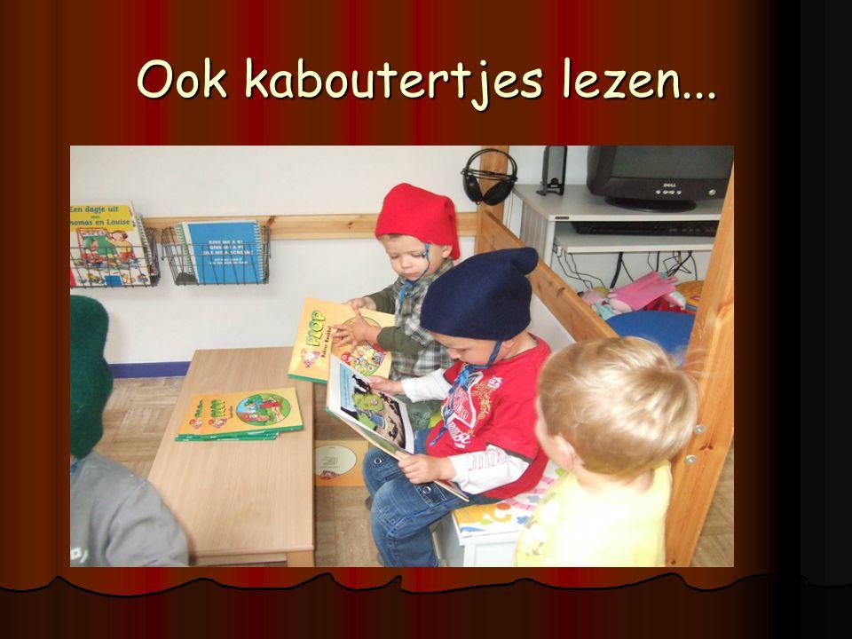 Ook kaboutertjes lezen...