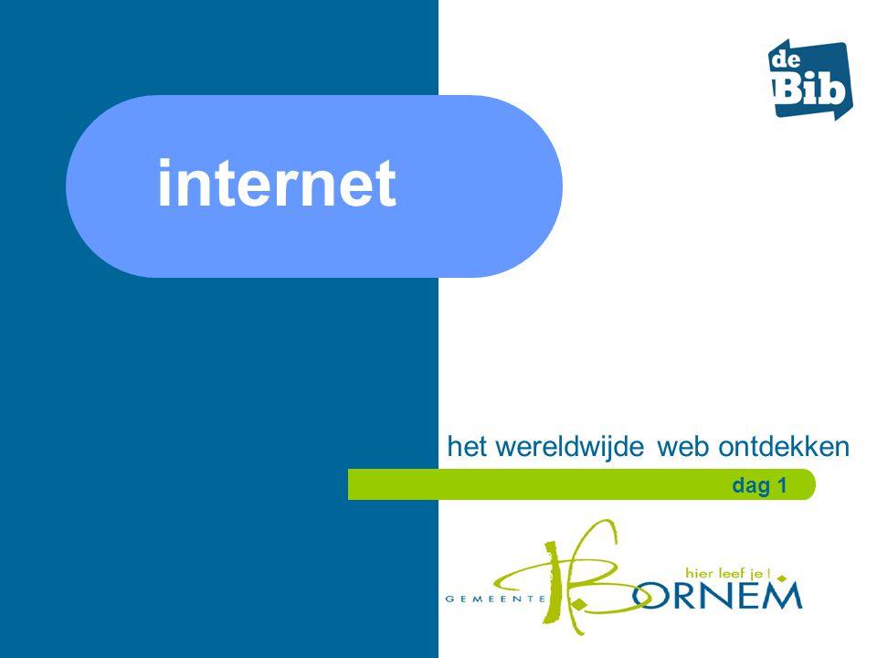 internet het wereldwijde web ontdekken dag 1