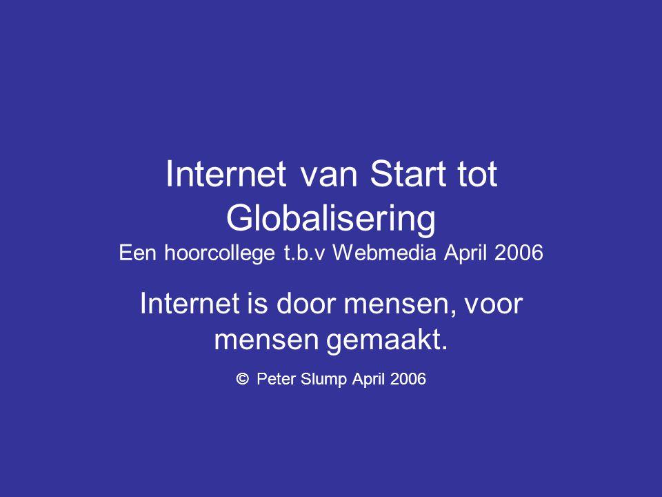 •Moderne communicatiemiddelen maken het mogelijk om zonder vertraging met elke uithoek van de wereld te communiceren.