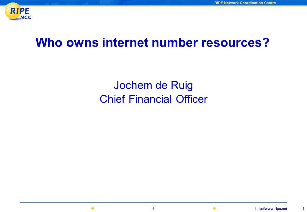 http://www.ripe.net12 De INR wereld • ICANN / IANA • RIRs • RIPE • ISOC • IETF