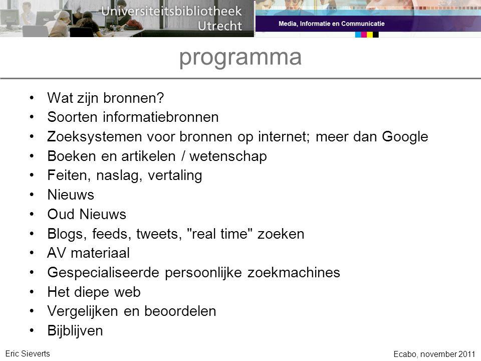 wat is een bron.•is Google een bron. •is het web een bron.