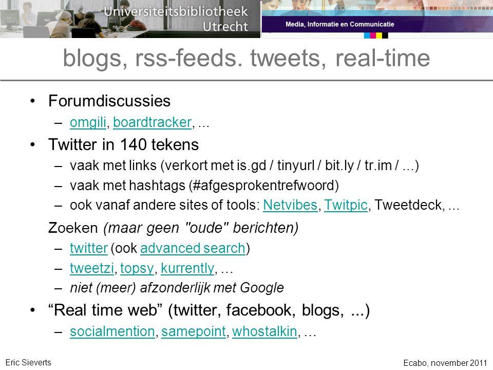 blogs, rss-feeds.