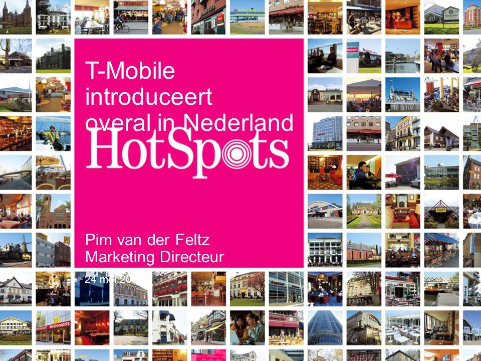 2 T-Mobile introduceert overal in Nederland HotSpots. Jachthaven Regatta Center, Medemblik