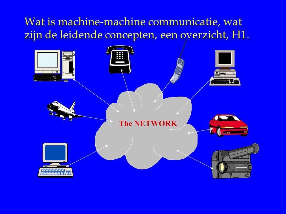 Wat is machine-machine communicatie, wat zijn de leidende concepten, een overzicht, H1. The NETWORK